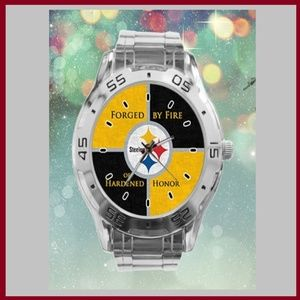 Pittsburgh Steeler's Stainless Steel Watch